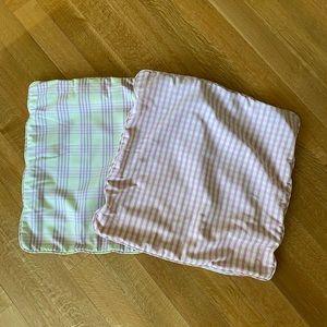 Sham throw pillow cover set of 2